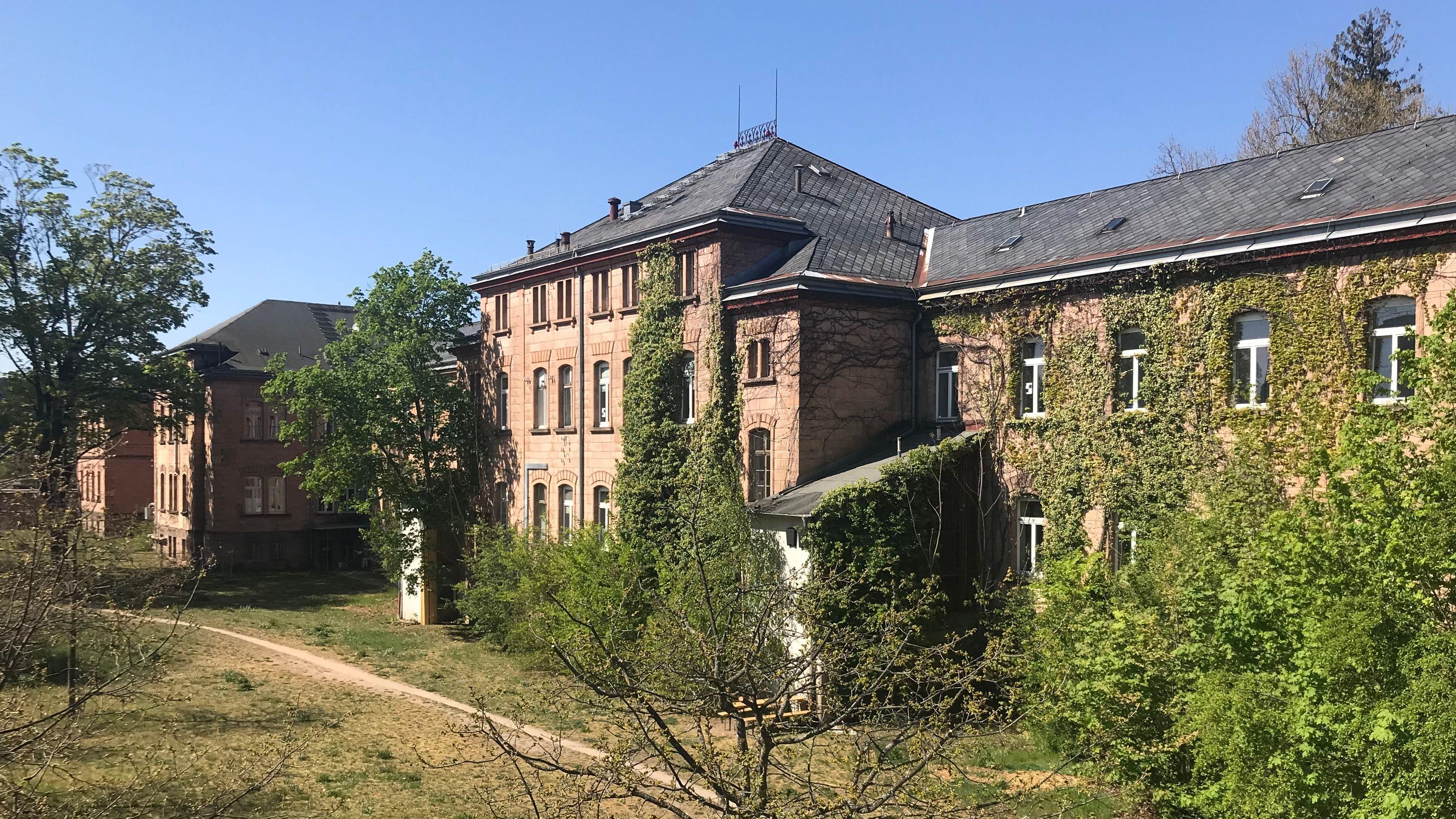 Die ehemalige Heil- und Pflegeanstalt in Erlangen