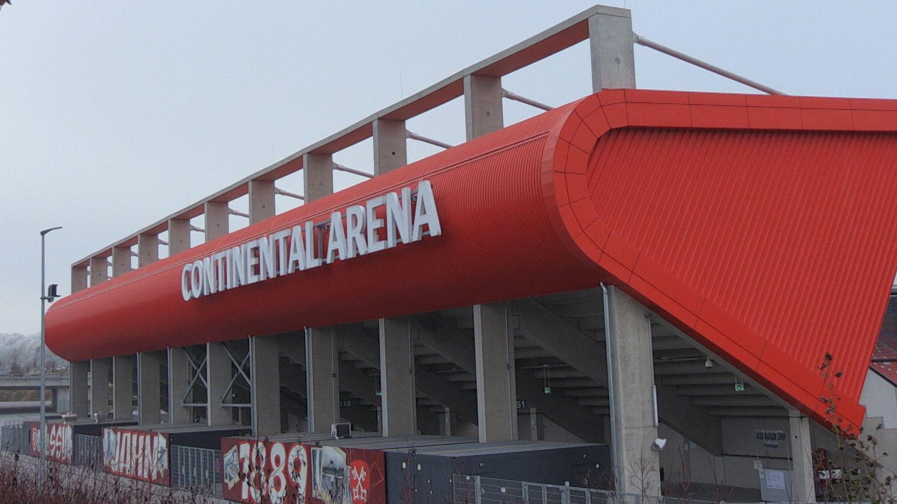Lange wird das Regensburger Stadion nicht mehr Continental-Arena heißen