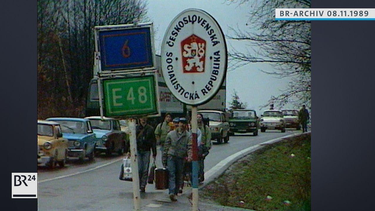 Grenzübergang bei Schirnding
