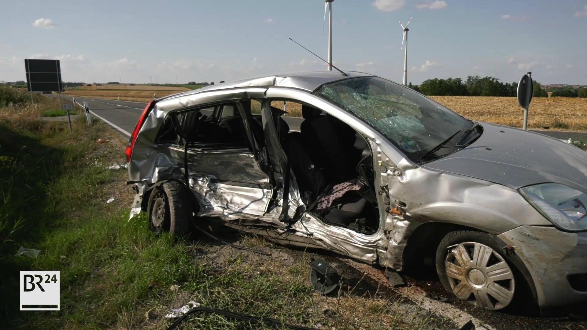 Schwerer Unfall in Rothenburg ob der Tauber