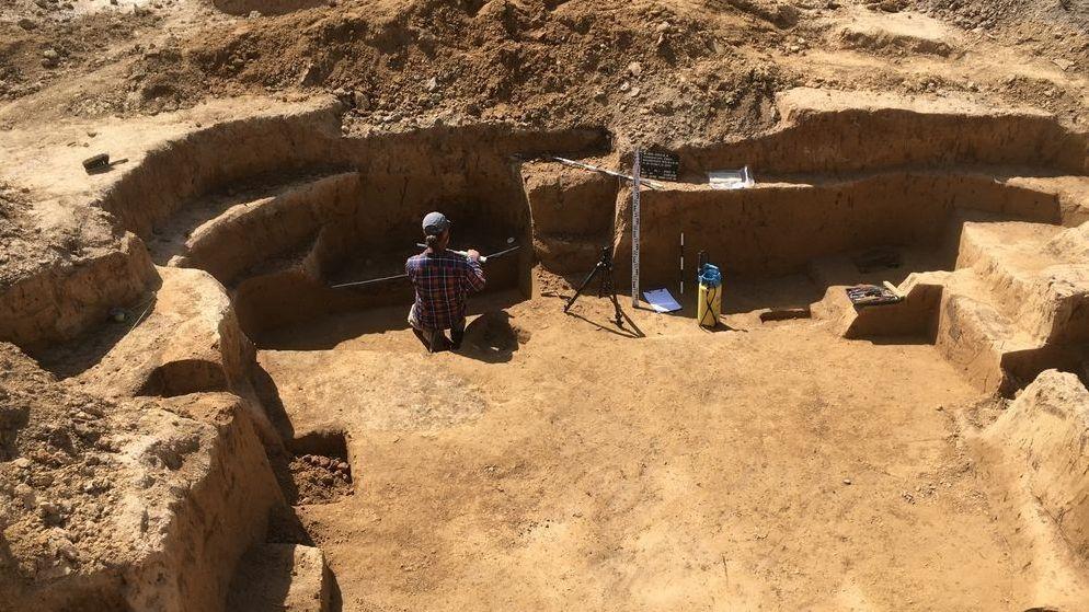Archäologische Grabungen in Schweinfurt