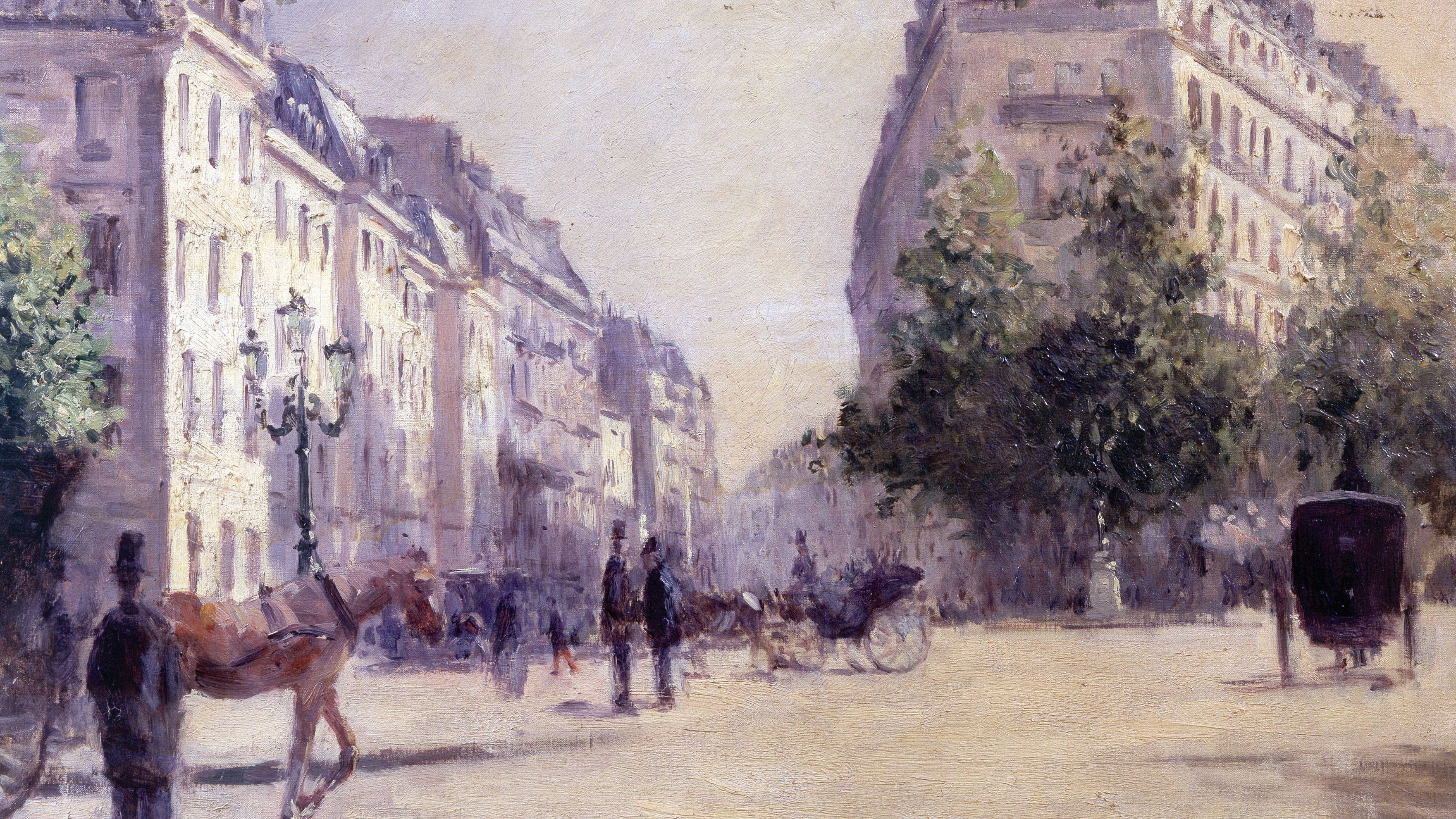 Gustave Caillebotte Die Kaserne Pépinière [La Caserne de la Pépinière], 1878