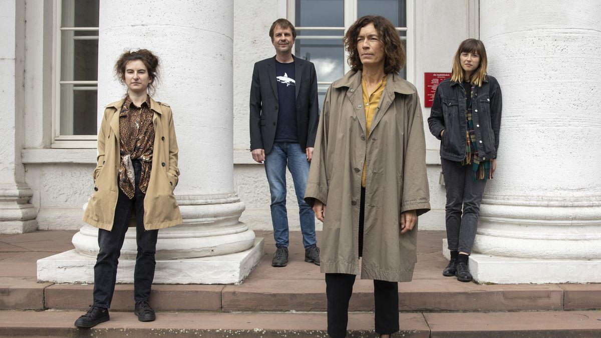 Gruppenbild der Nominierten für den Deutschen Buchpreis