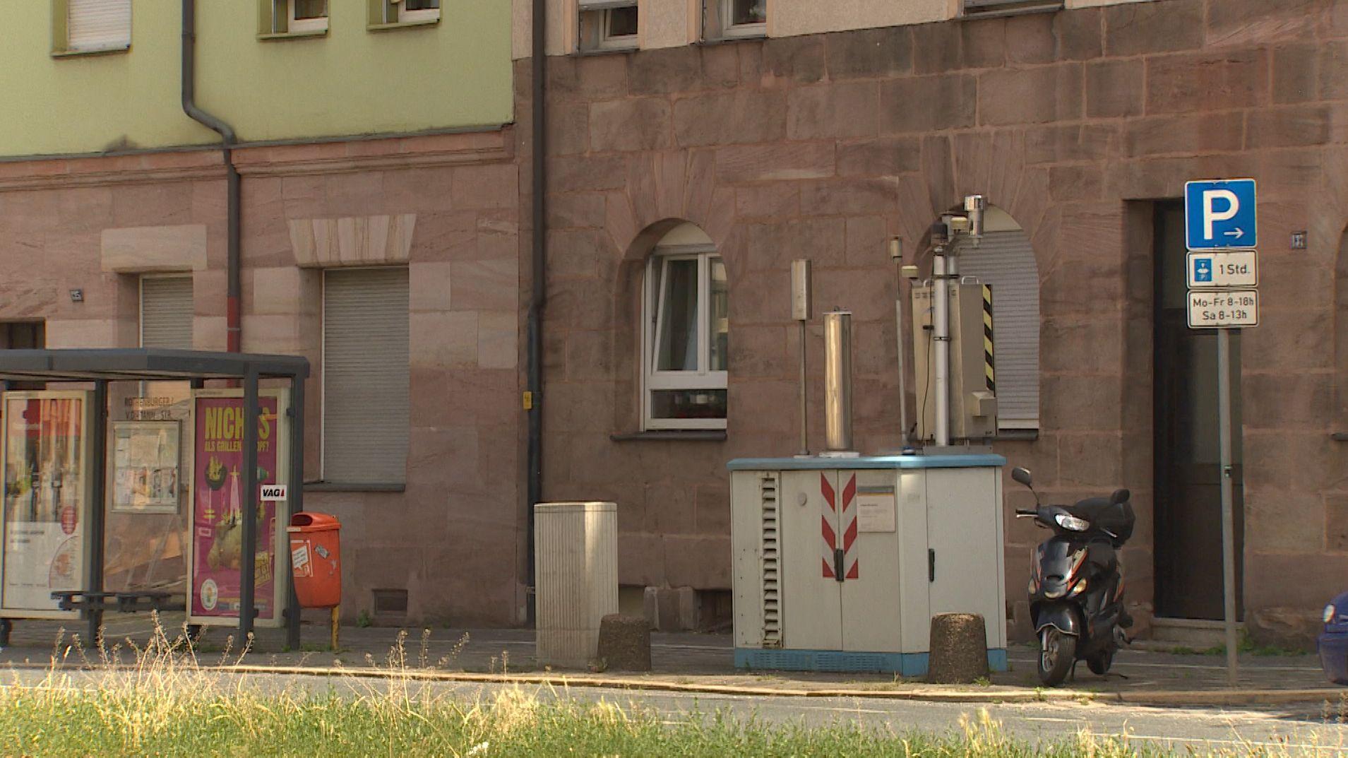 Luftmessung in Nürnberg