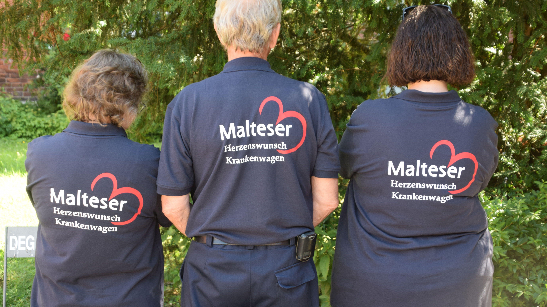 Das Herzenswunschmobil der Malteser Deggendorf gibt es seit einem halben Jahr.