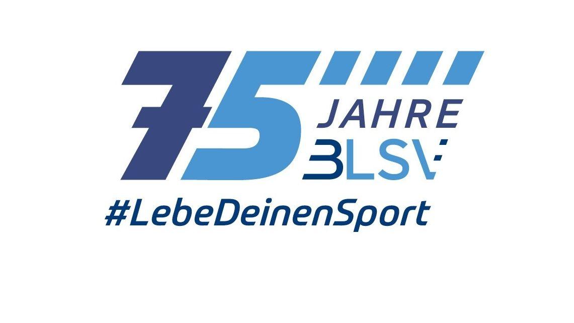 Logo: 75 Jahre BLSV