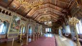 Der restaurierte Sängersaal im Schloss Neuschwanstein am 27.08.2020 | Bild:BR/René Kirsch