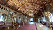 Der restaurierte Sängersaal im Schloss Neuschwanstein am 27.08.2020   Bild:BR/René Kirsch