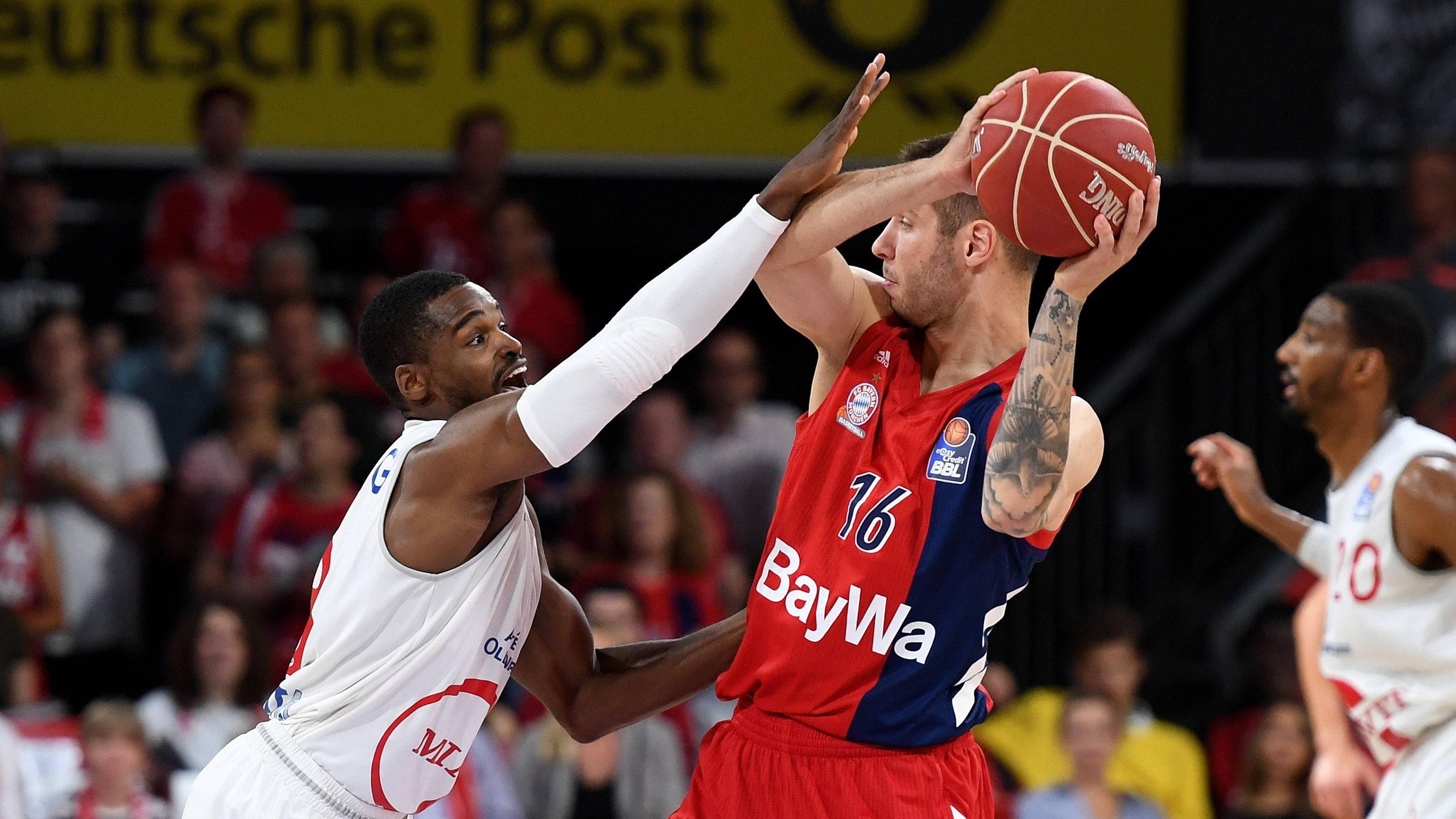 Spielszene FC Bayern Basketball - Rasta Vechta