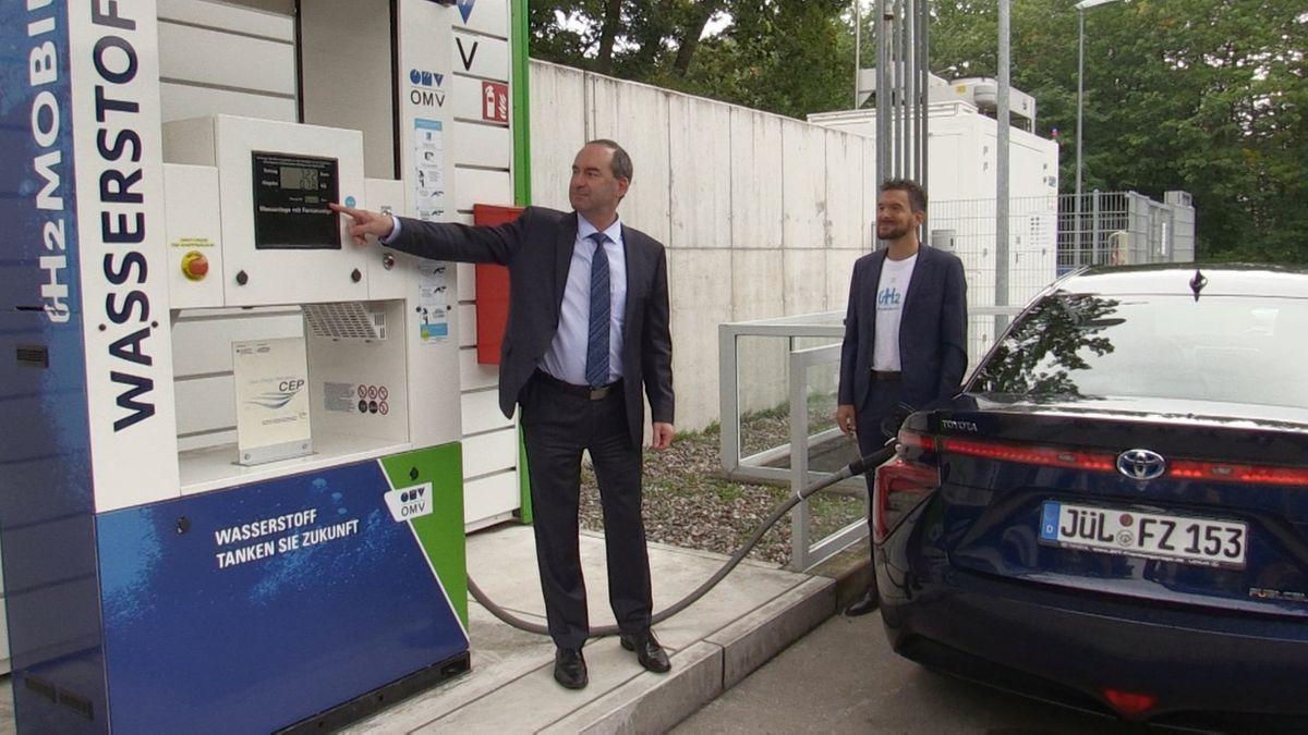 50 Millionen Euro für Wasserstoff-Tankstellen