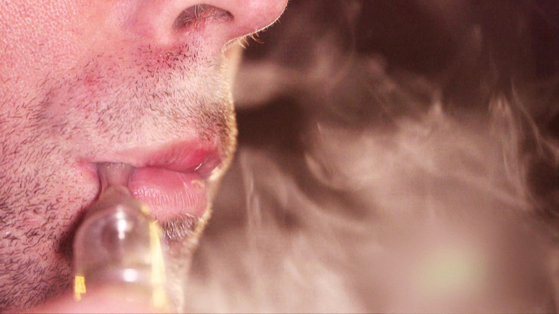 E-Zigaretten-Raucher