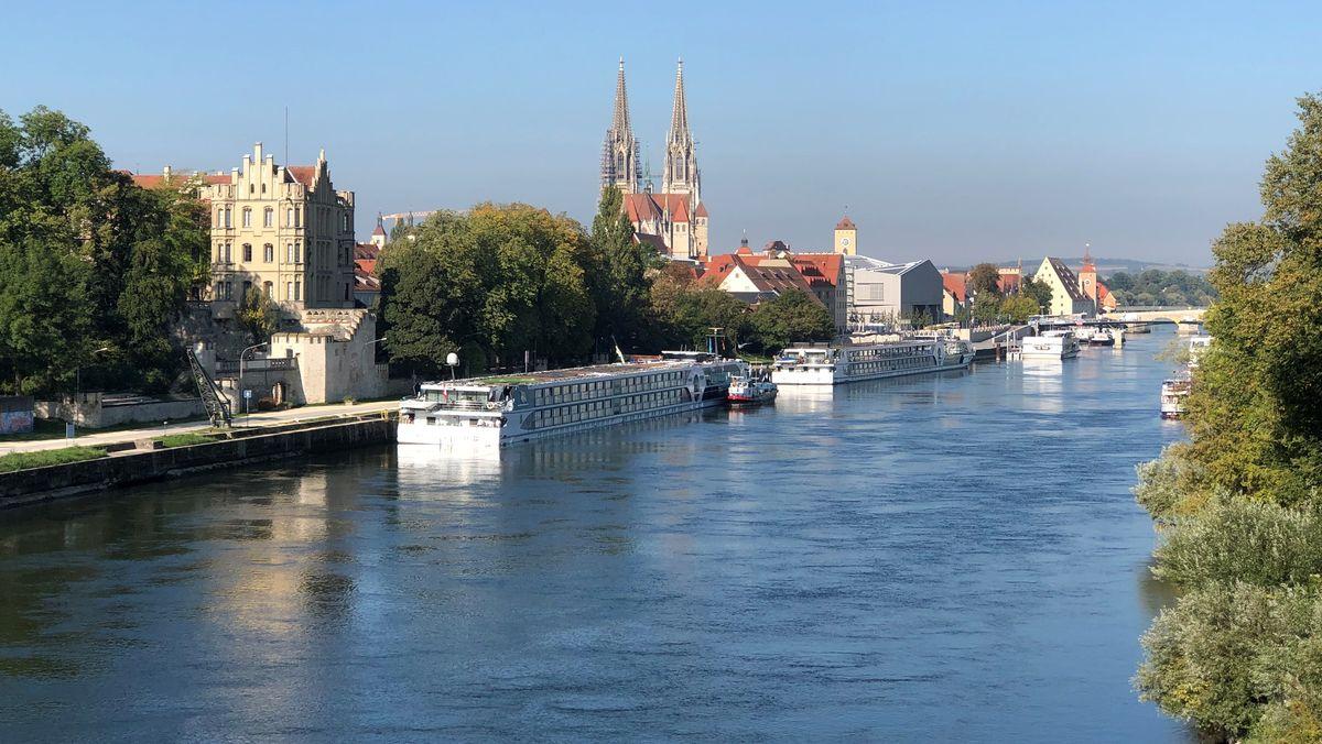 Kreuzfahrtschiffe in Regensburg