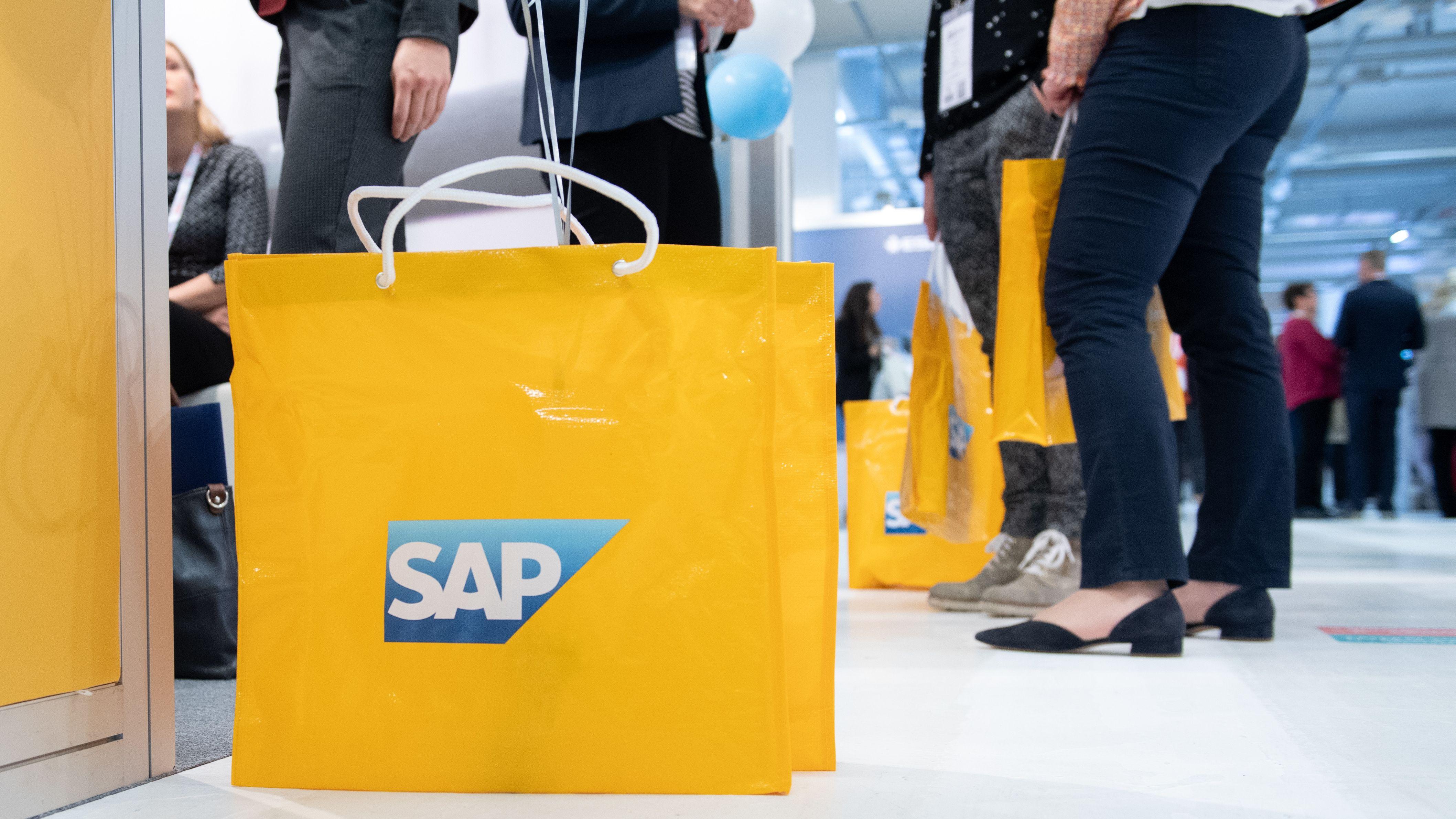 Symbolbild: Tragetasche von SAP