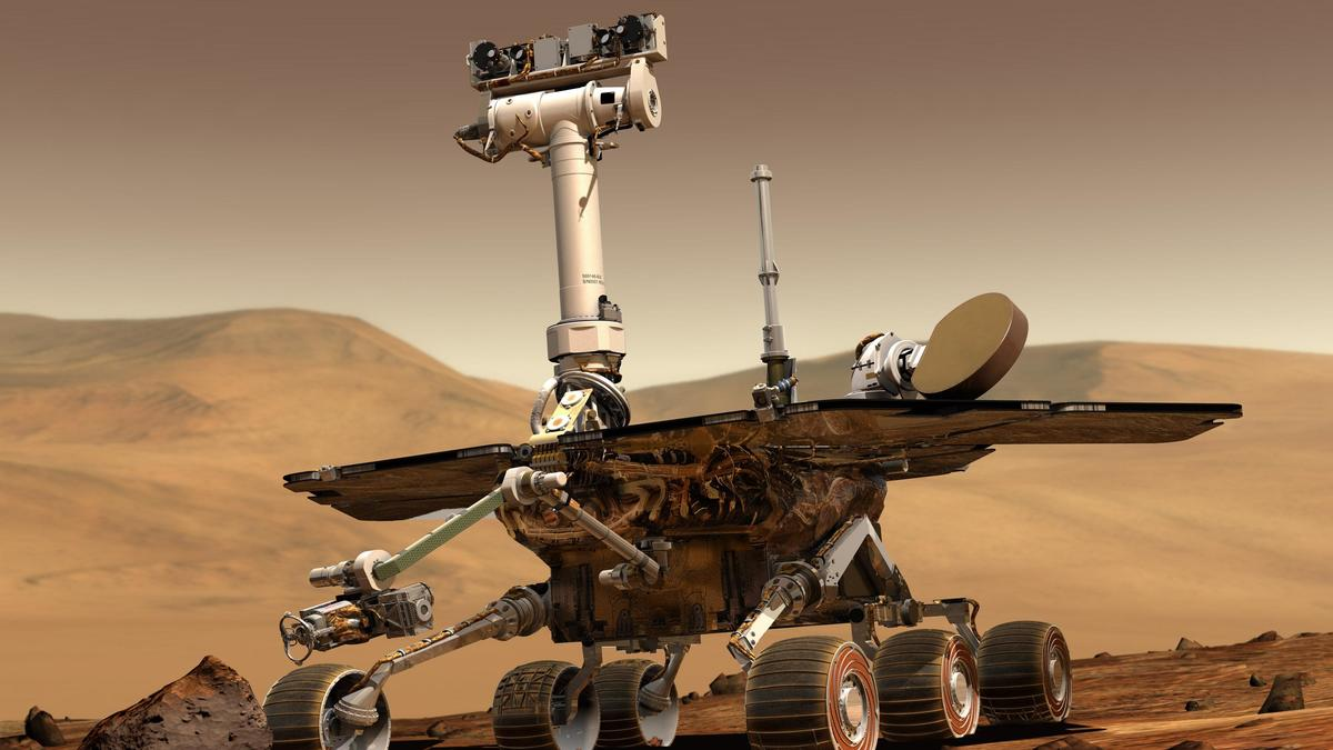 Mars-Rover Opportunity