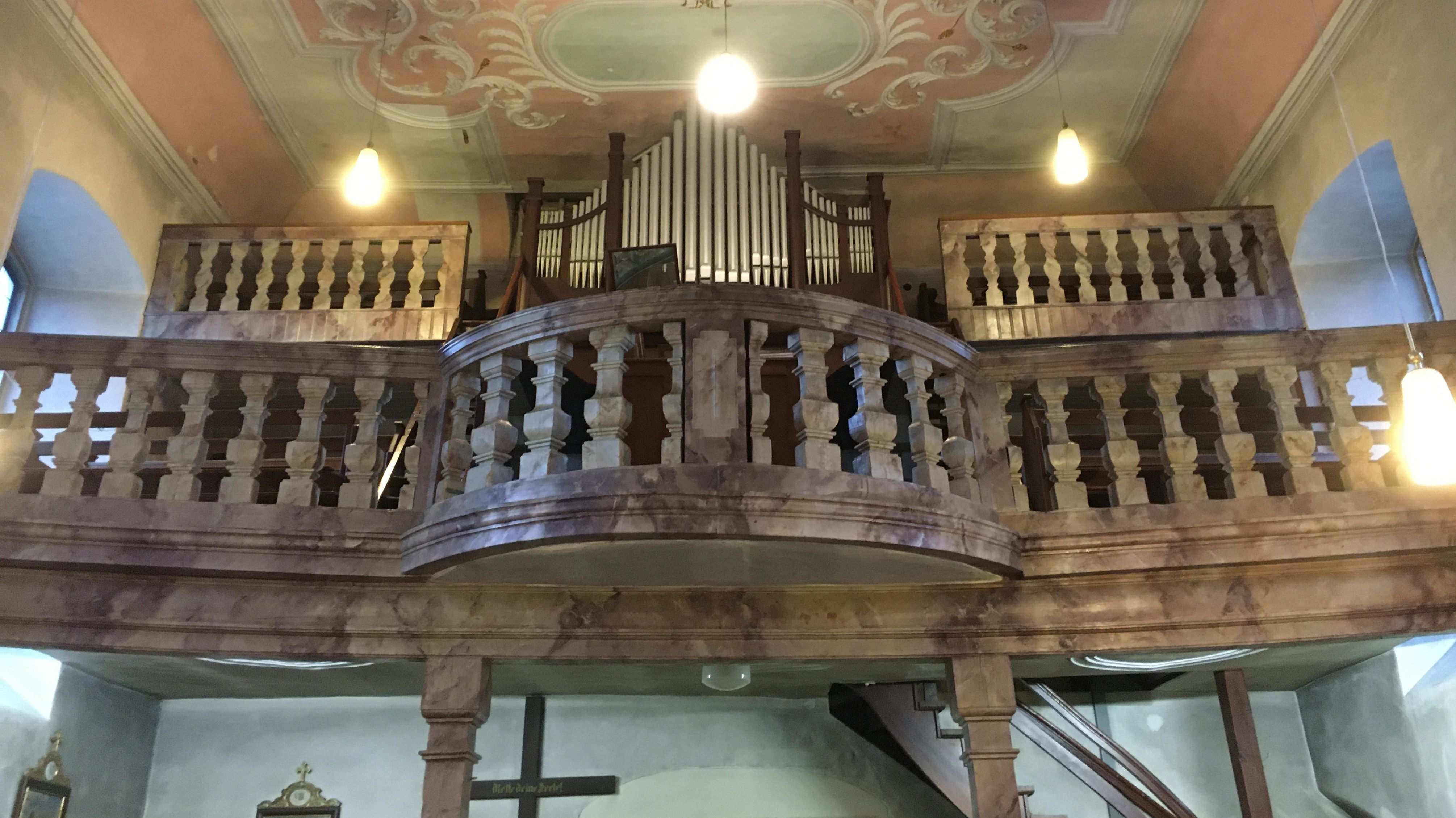 Orgel in St. Barbara