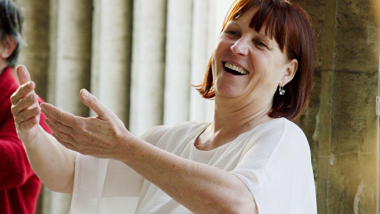 Cornelia Leisch, 1. Vorsitzende des Europäischen Berufsverband für Lachyoga und Humortraining e.V.