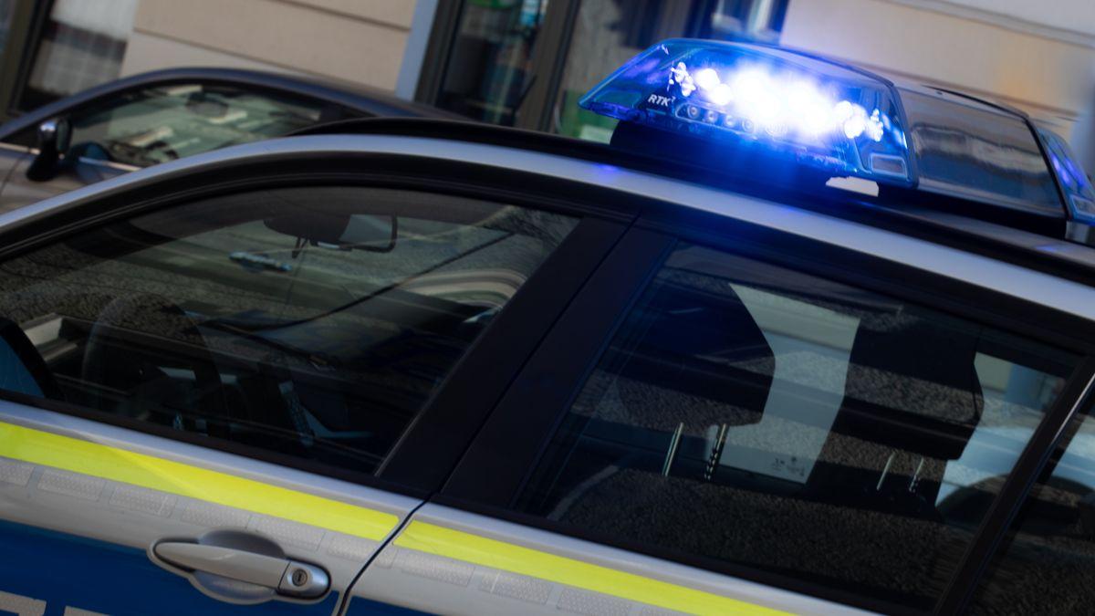 Eine Polizeistreife im Einsatz
