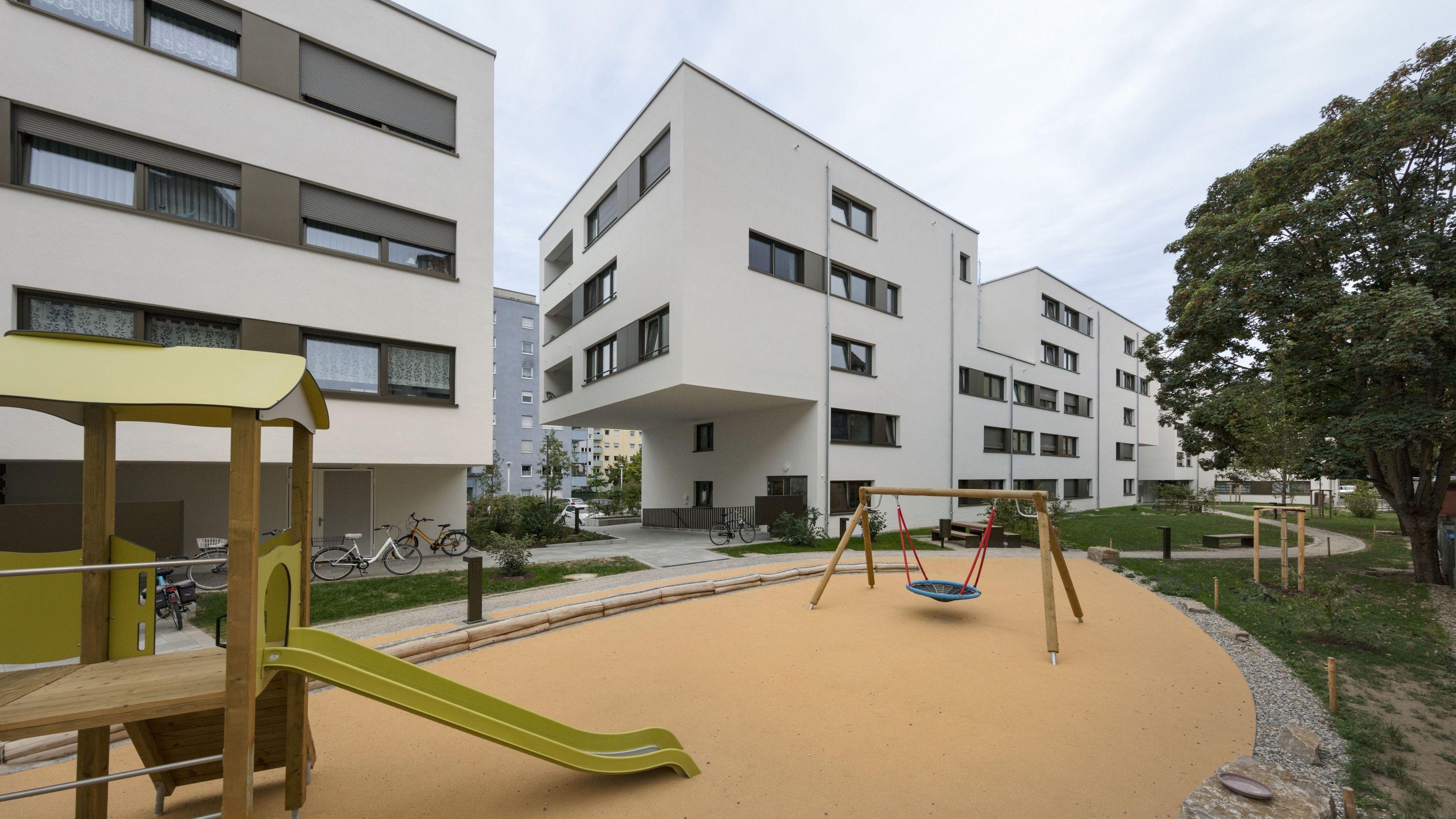 Neue Wohnanlage des St. Bruno-Werks im Würzburger Stadtteil Sanderau