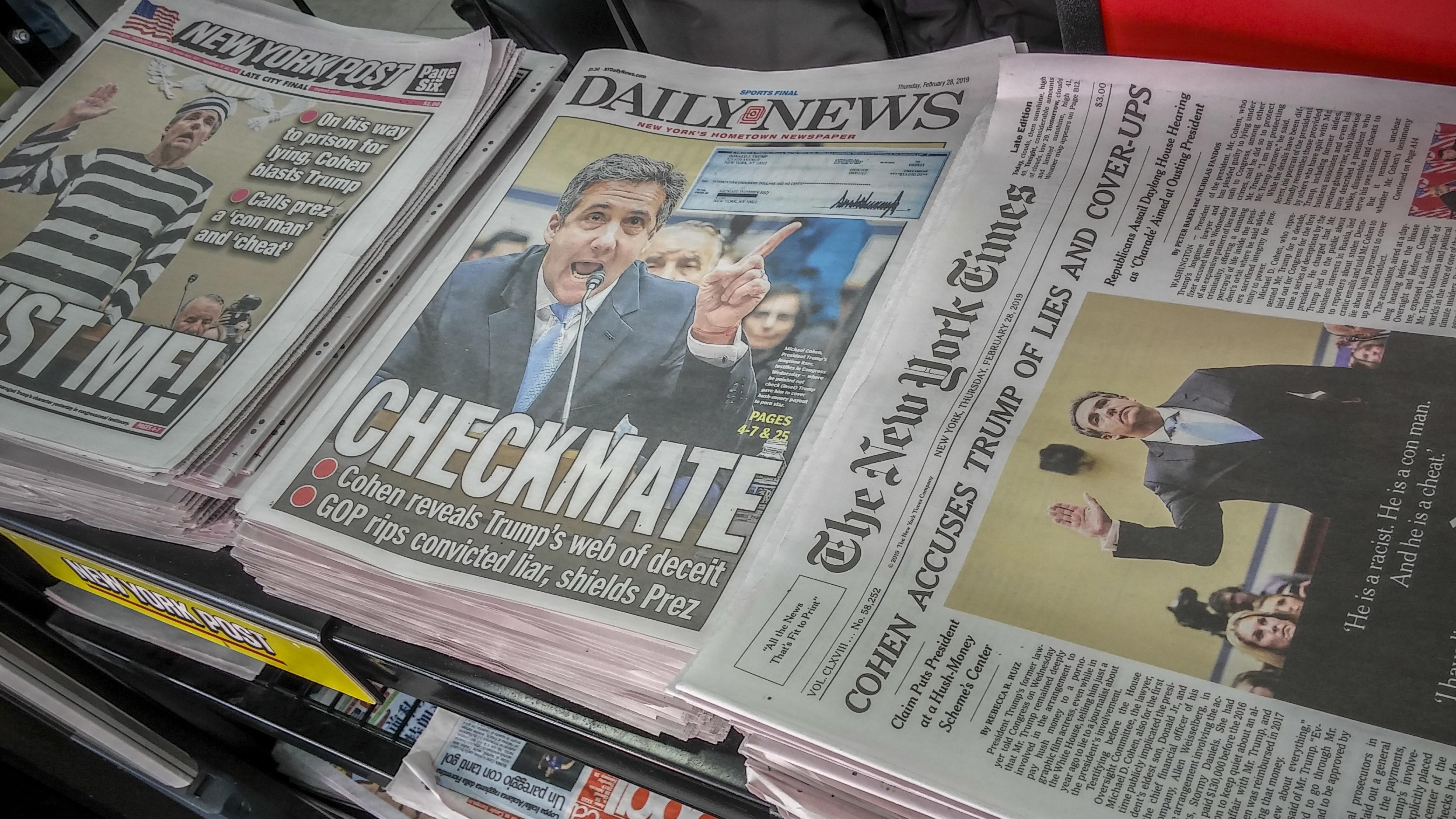 US-Zeitungen