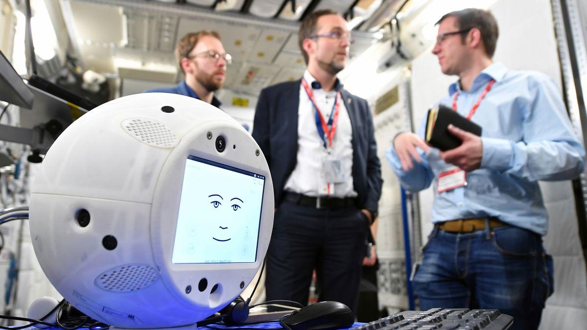 Cimon, der ISS-Roboter