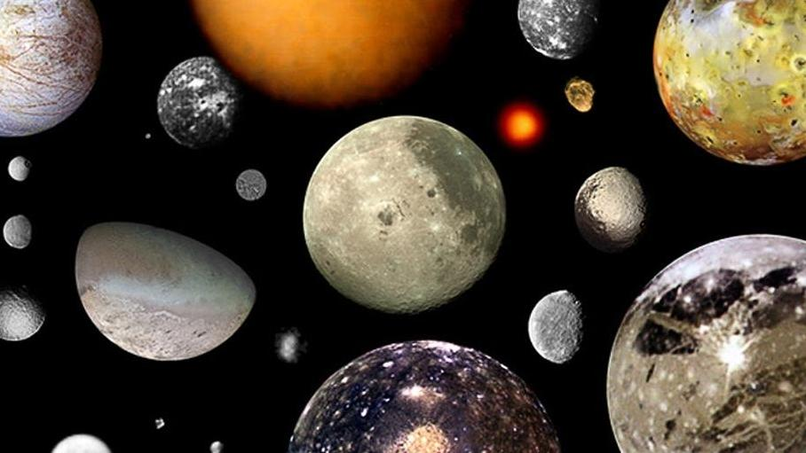 Monde unseres Sonnensystems