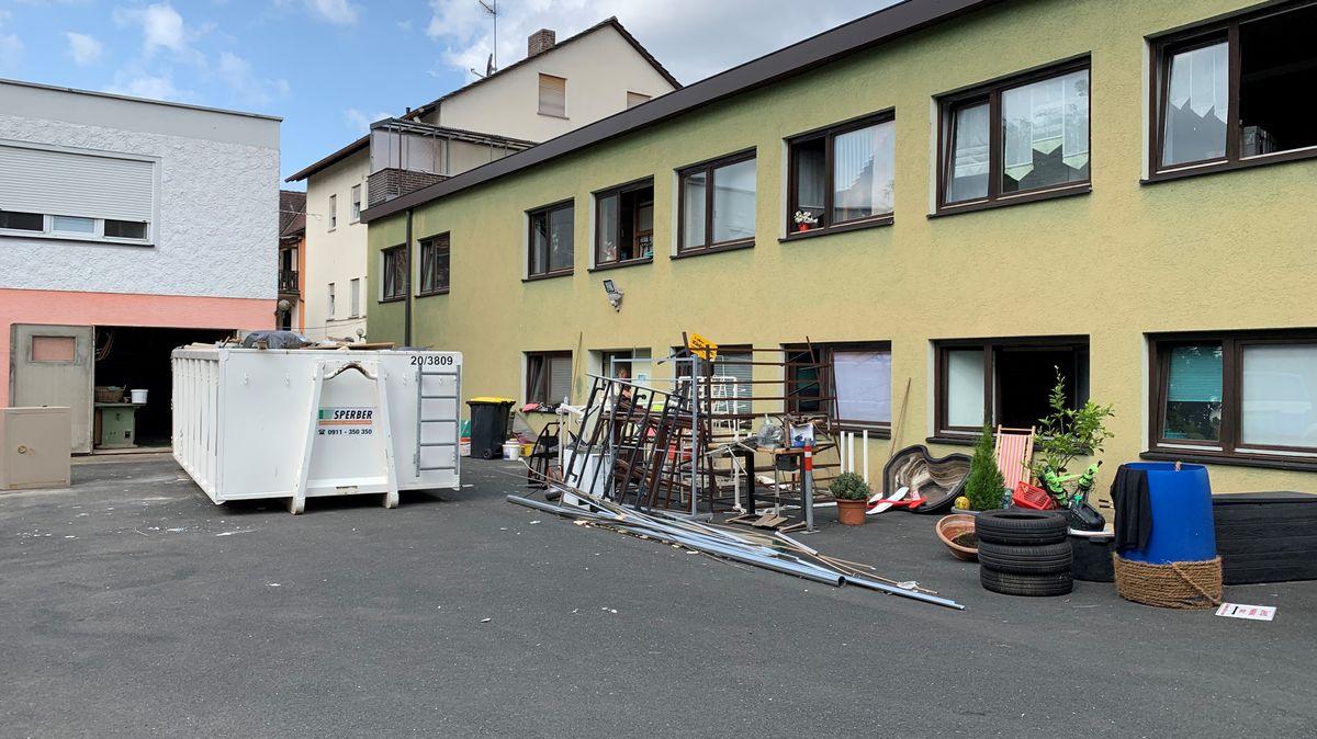Das Raumausstattungsgeschäft der Familie Ritter in Wilhermsdorf