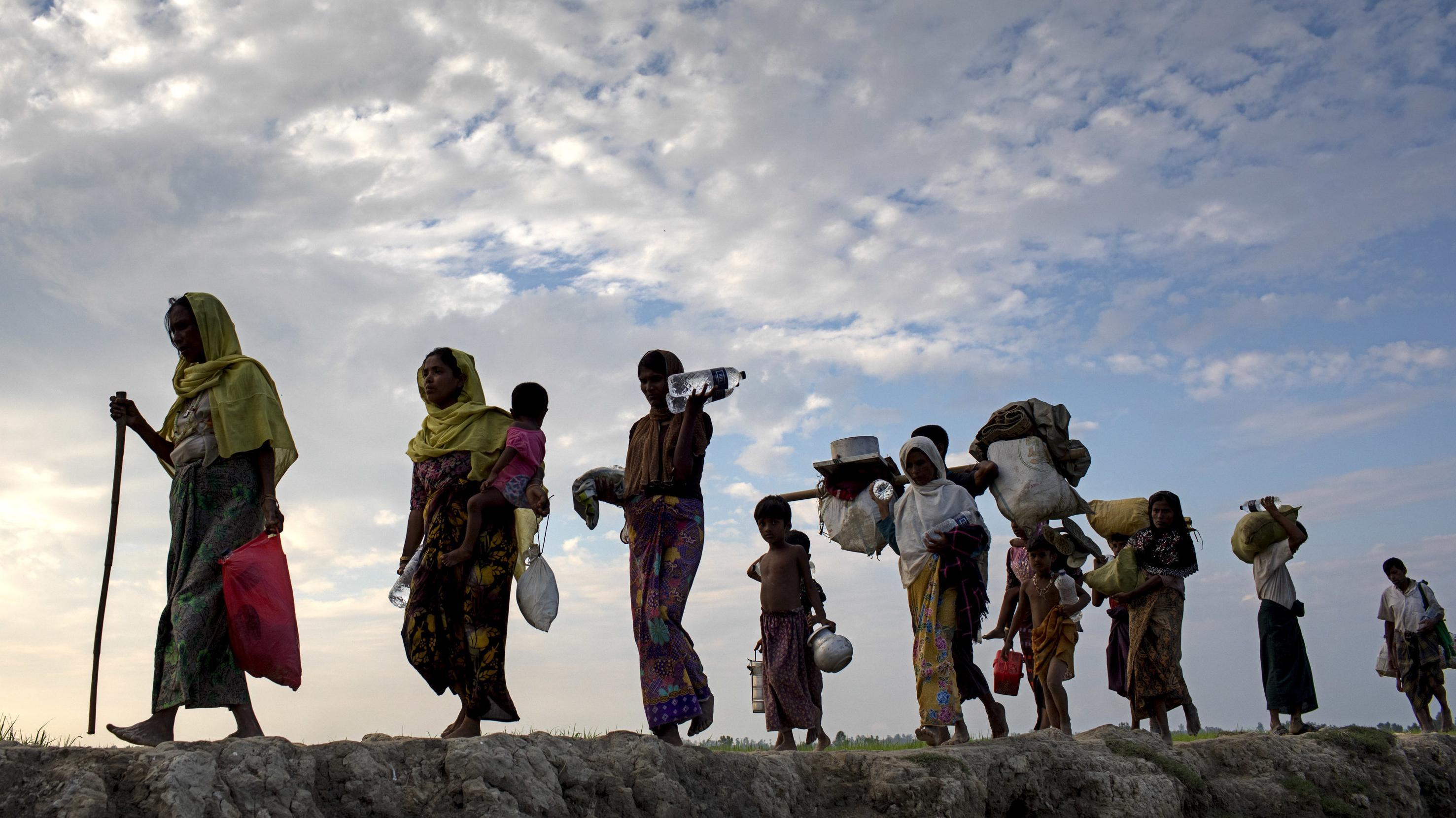 Rohingya-Flüchtlinge in Bangladesh