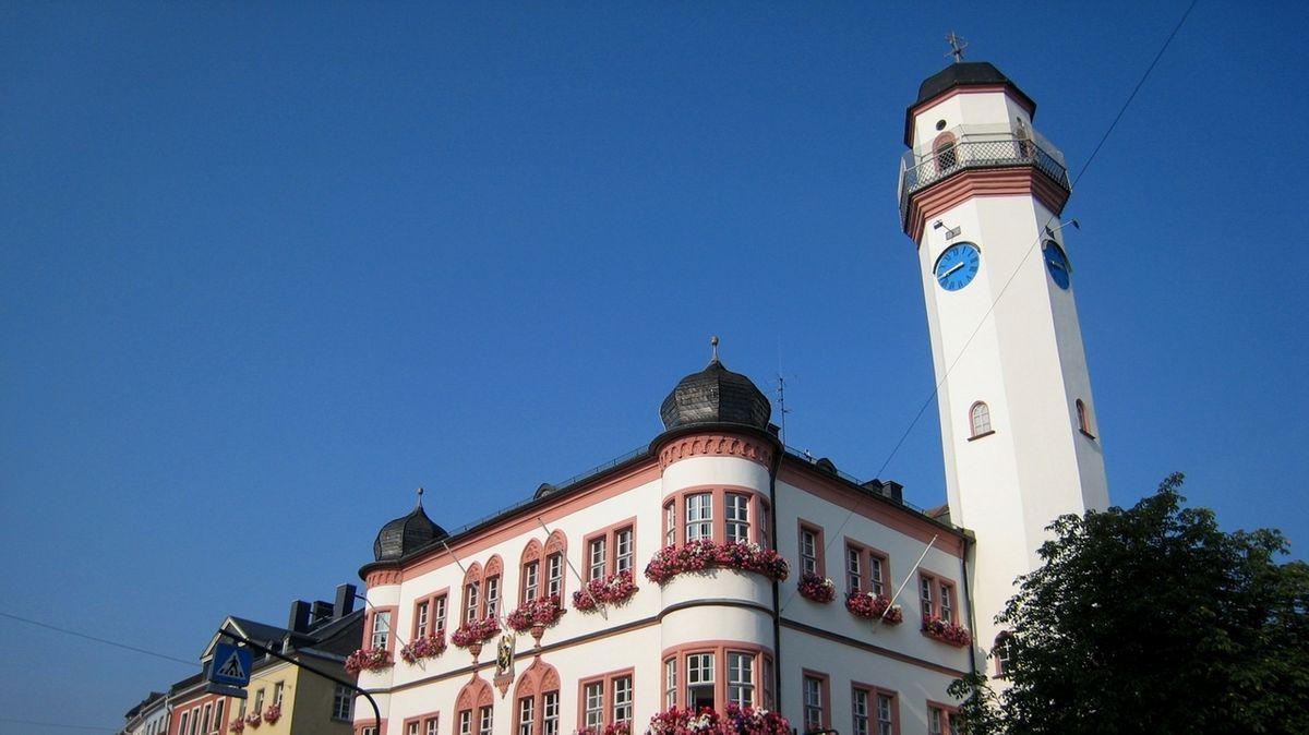 Das Rathaus der Stadt Hof.