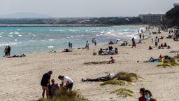 Strand von Mallorca | Bild:picture alliance/dpa | Clara Margais