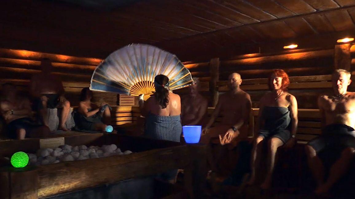 Sauna in der Therme in Marktheidenfeld