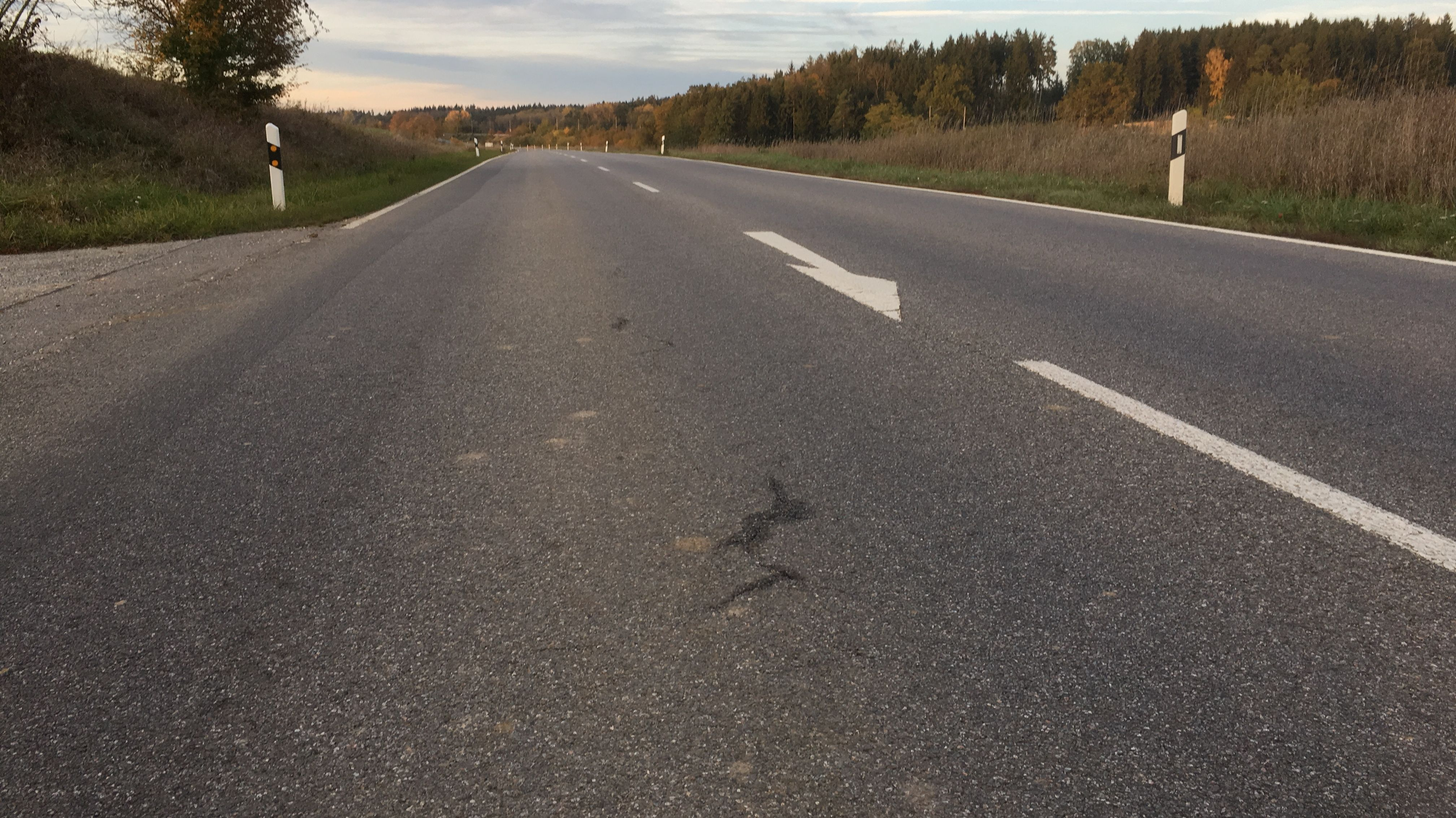 Wegen Straßenschäden wird die B15 gesperrt