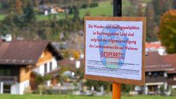 Coronavirus - Situation in Berchtesgaden | Bild:dpa-Bildfunk/Lino Mirgeler