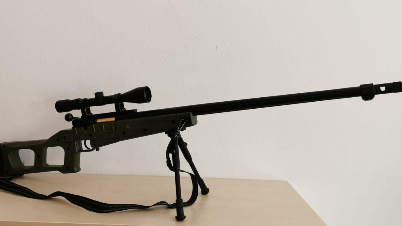 Mit diesem Luftgewehr hat der 17-Jährige wohl auf den Senior geschossen