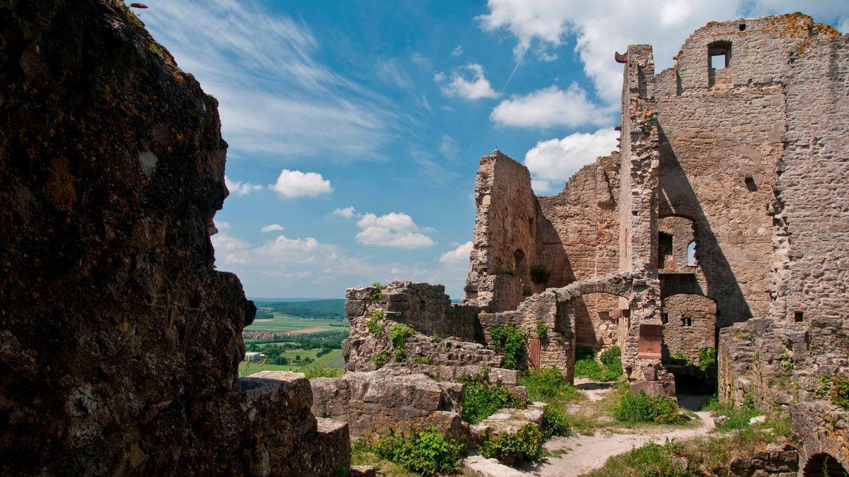 Die Burgruine Homburg bei Gössenheim