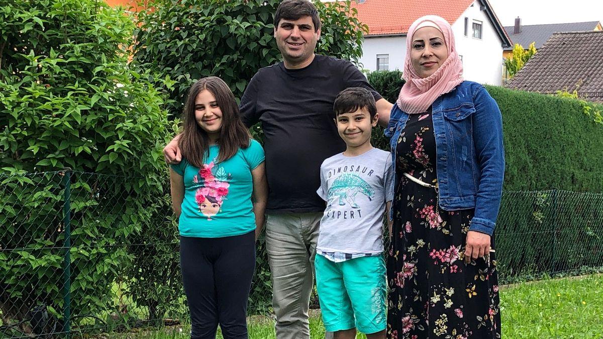 Um Integration bemüht: Eine Flüchtlingsfamilie in Niederbayern