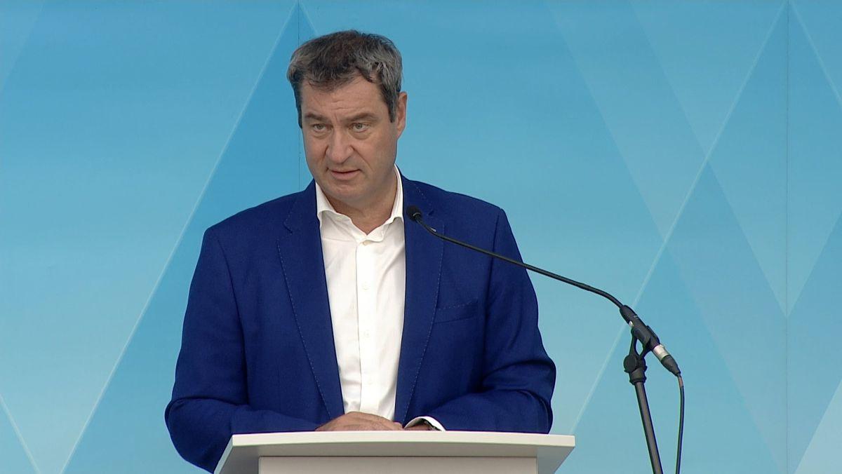 Bayerns Ministerpräsident Markus Söder fordert Doppeltests für Reise-Rückkehrer.