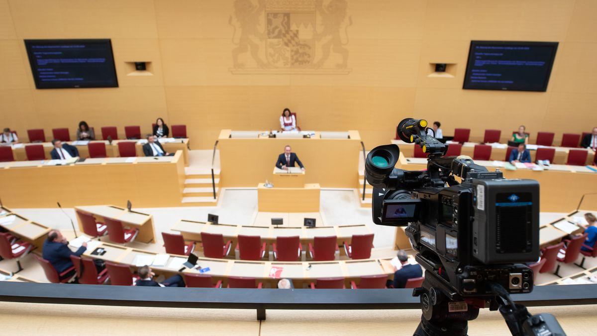 Diskussion im Parlament des Bayerischen Landtags