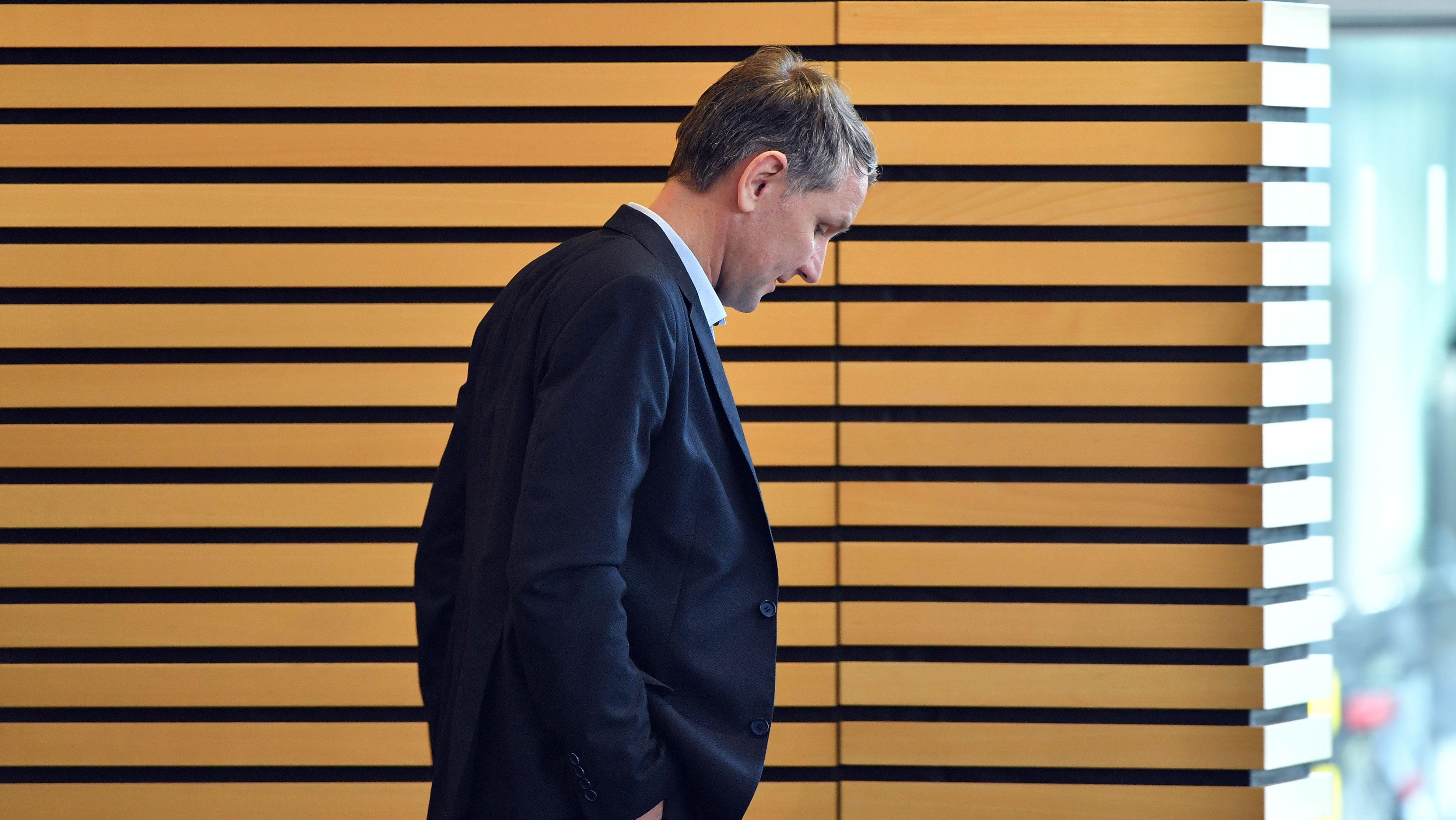 """Björn Höcke, AfD-Fraktionschef von Thüringen, und führender Kopf des """"Flügel"""""""