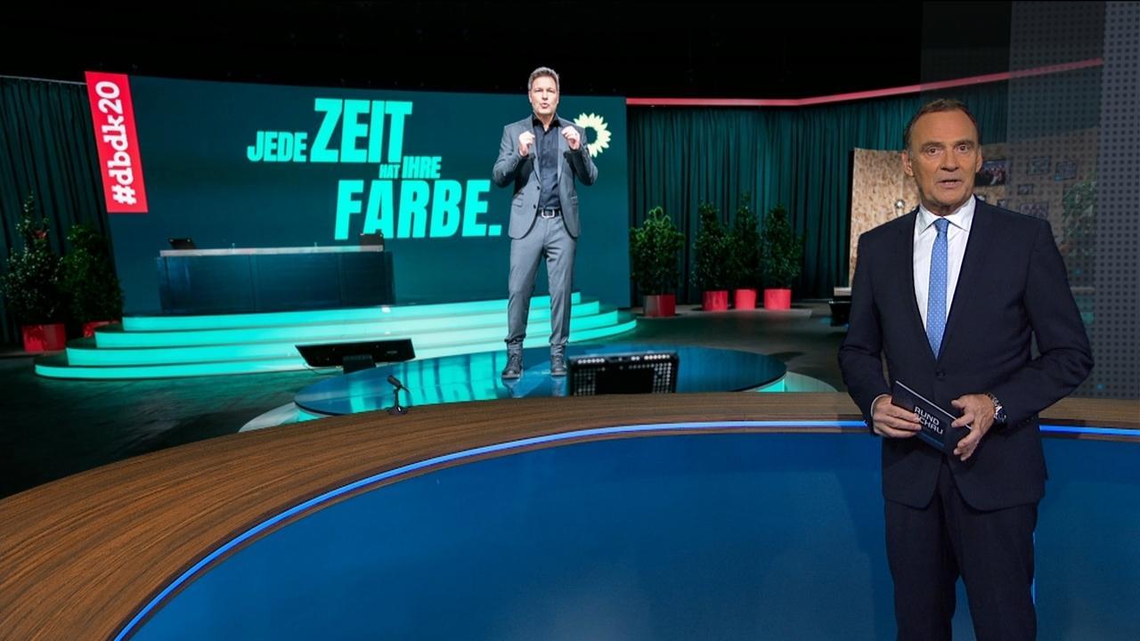 Moderator Florian Fischer-Fabian im Rundschau-Magazin-Studio