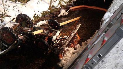 Traktor-Unfall in Weitnau