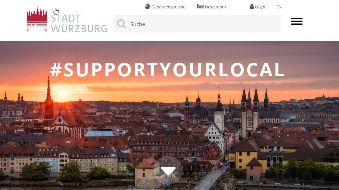 """""""Support your local"""" Würzburg"""