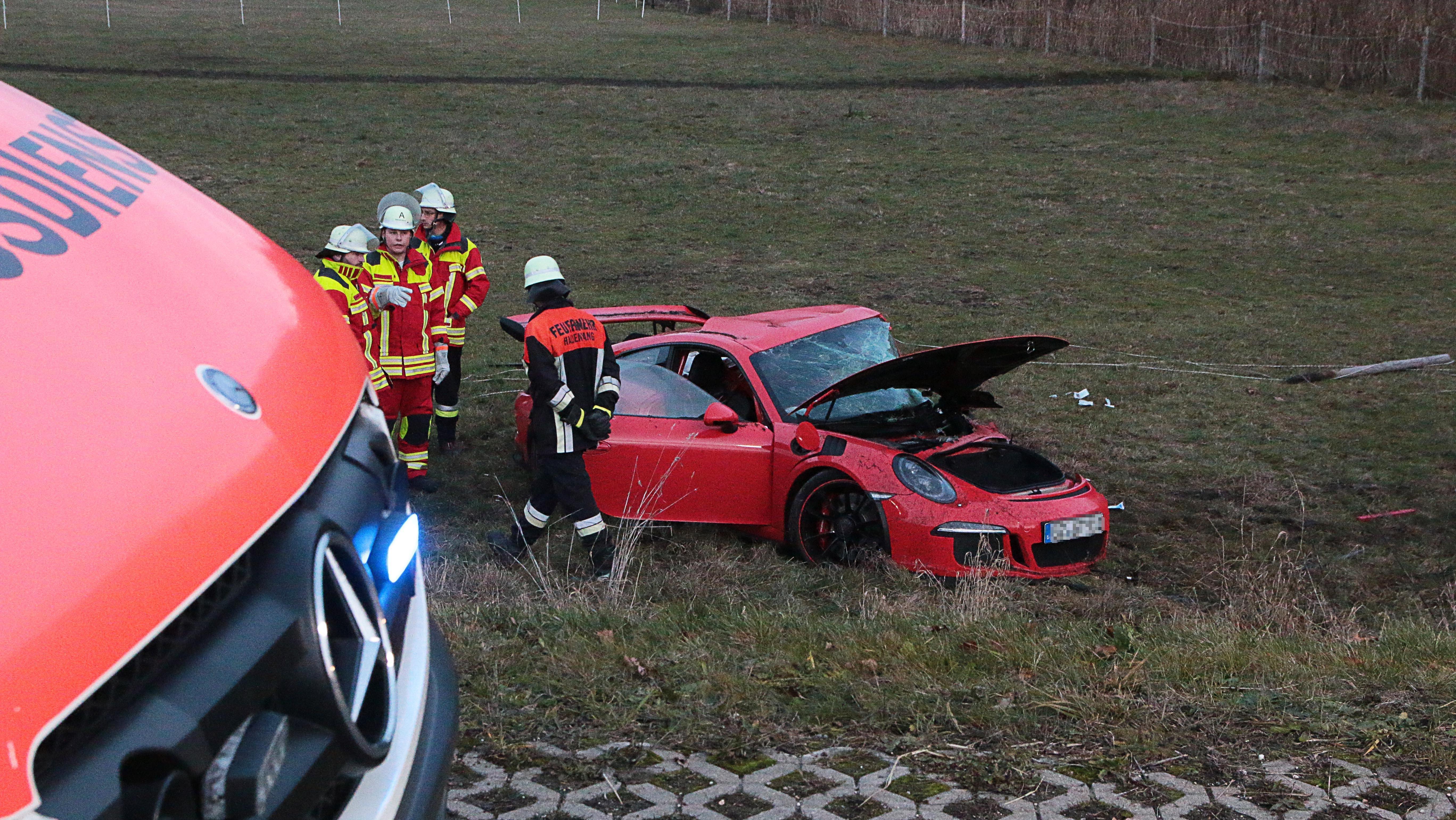 Unfall bei Burgau