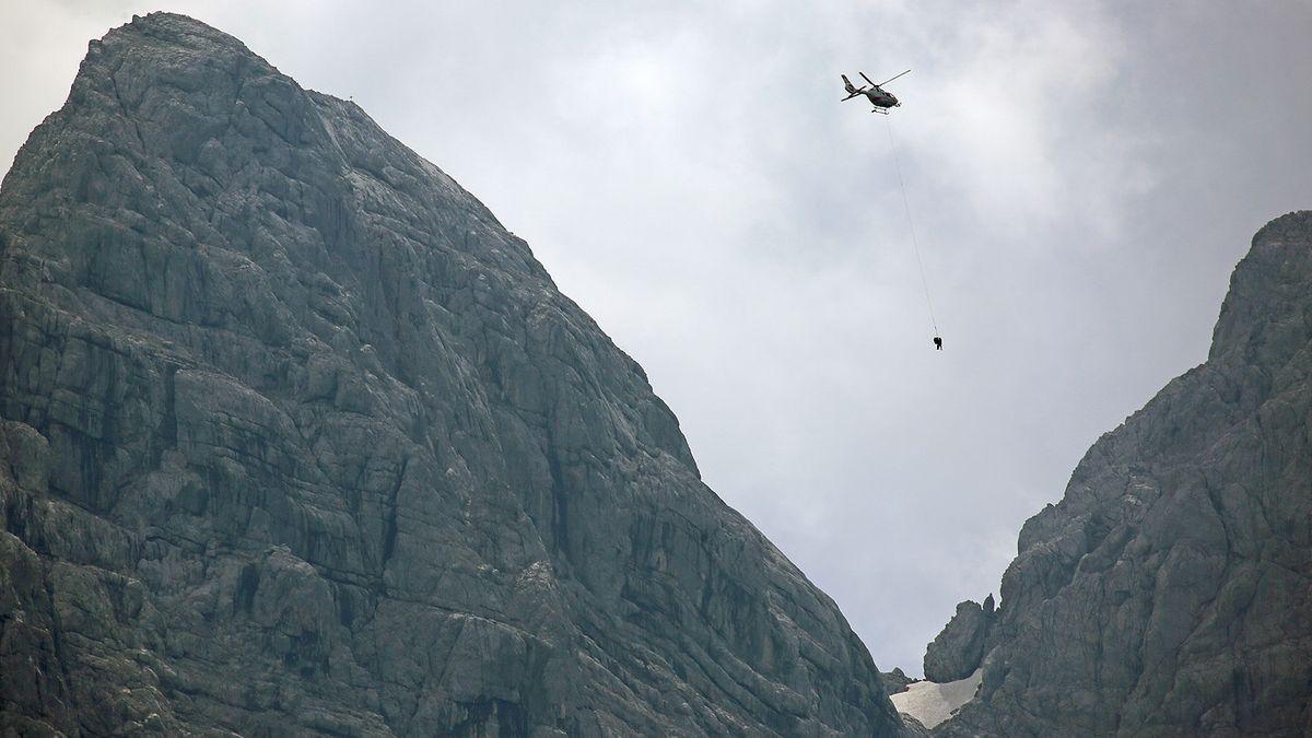 Rettungsaktion in Berchtesgadener Alpen