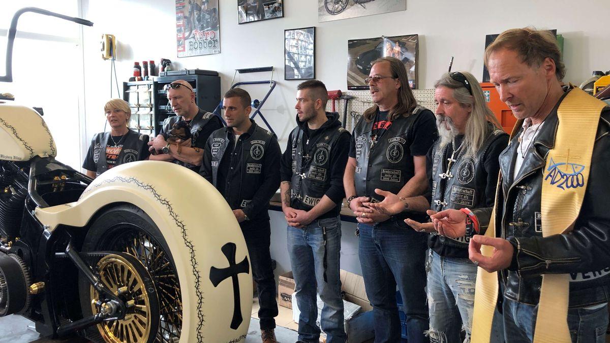 Die unterfränkische Harley-Davidson-Werkstatt in Hettstadt