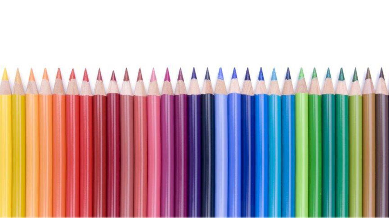 Symbolbild für Diversity: eine ganze Farbpalette an Buntstiften