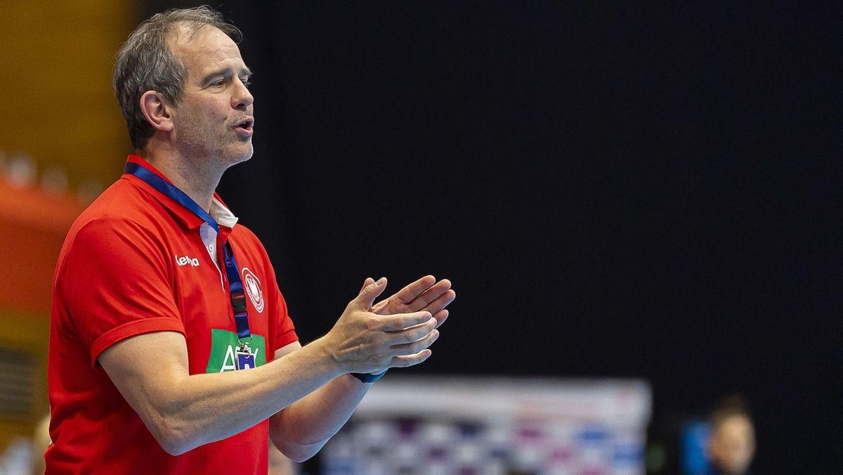 Bundestrainer Henk Groener