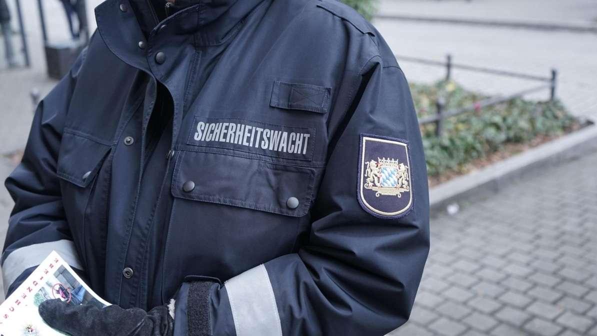 Symbolbild: Uniform eines Sicherheitswacht-Mitarbeiters.