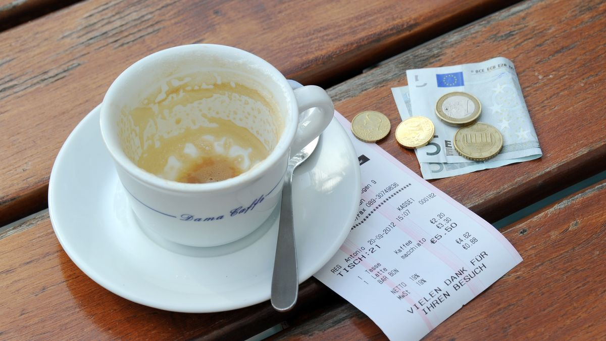 Symbolbild Trinkgeld