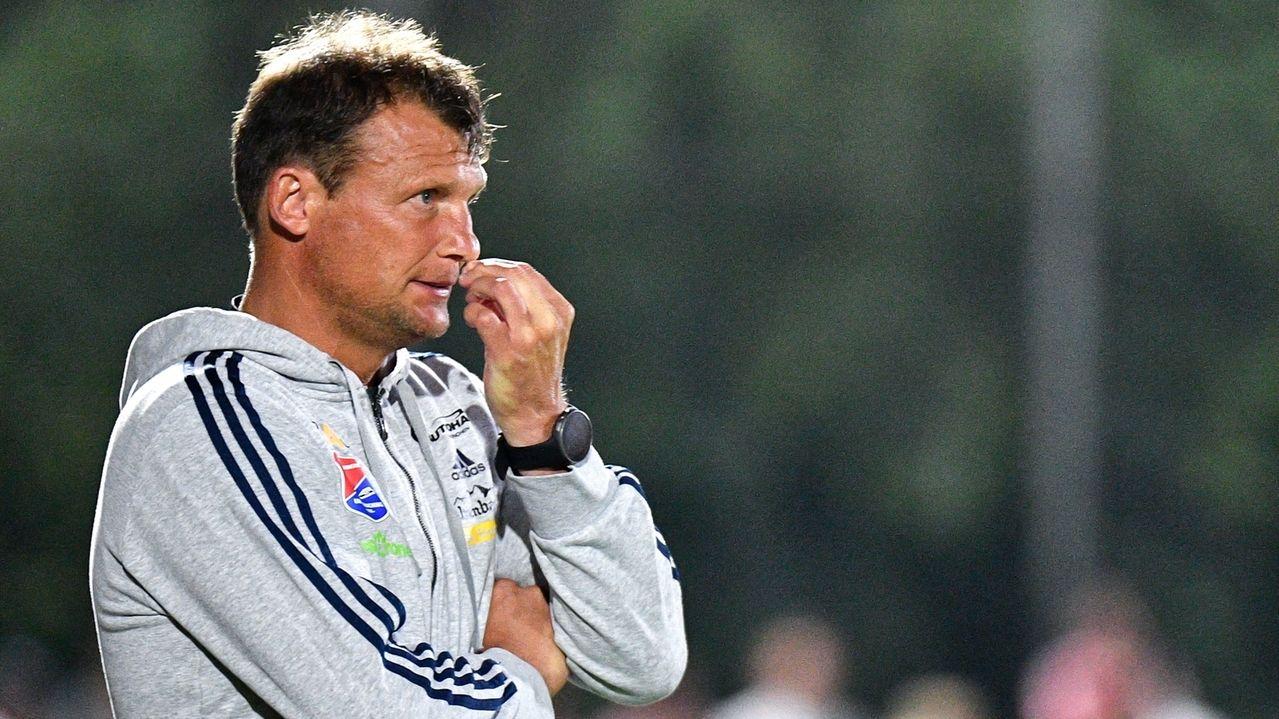 Unterhaching-Trainer Claus Schromm
