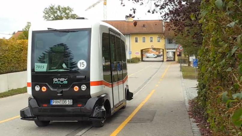 Autonome Busse bald in Oberfranken